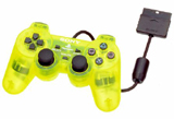 PS2 Controller Lemon Yellow By Sony