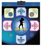 PS2 Wireless Night Moves Dance Pad by Pelican