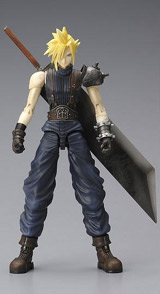 Final Fantasy VII: Play Arts Game Edition Cloud Strife Action Figure