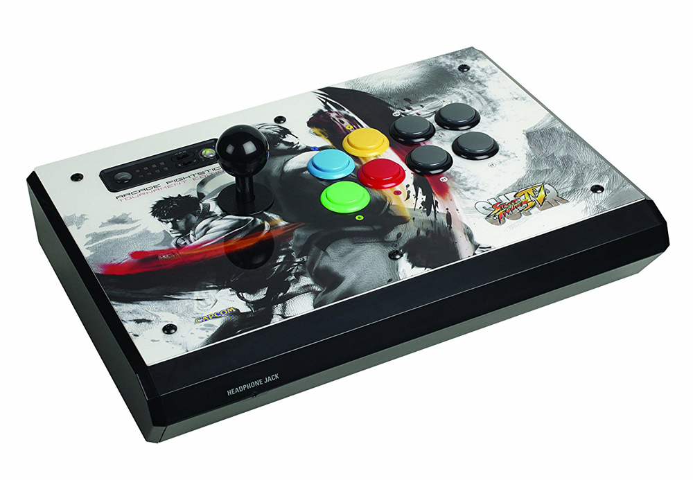 Xbox 360 Super Street Fighter IV Tournament Edition FightStick White