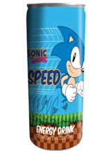 Sonic the Hedgehog Speed Energy Drink 12oz
