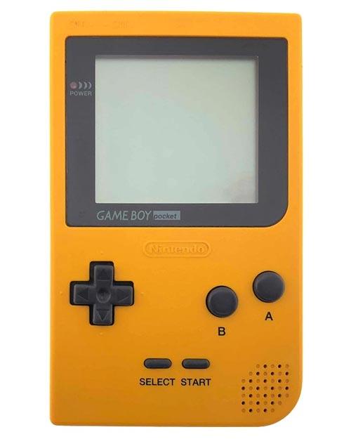 Nintendo Game Boy Pocket System Yellow