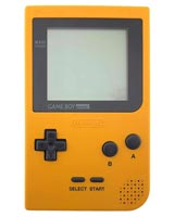 Nintendo Game Boy Pocket System Yellow