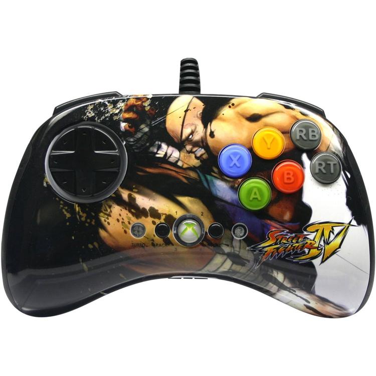 Xbox 360 Street Fighter IV FightPad Round 2 - Sagat