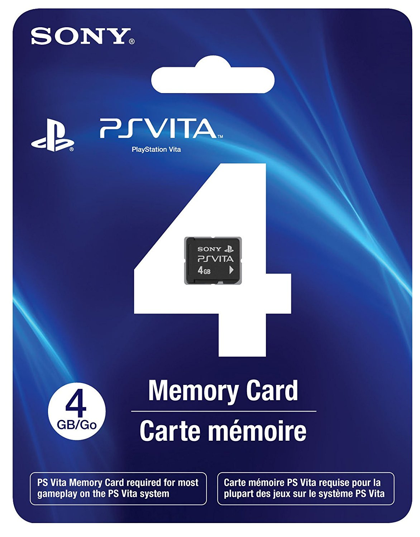 PlayStation Vita 4GB Memory Card