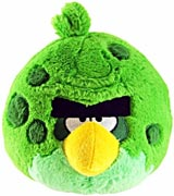Angry Birds Space 5 Inch Green Monster Bird Plush