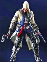 Assassin's Creed III Play Arts Kai Connor Action Figure