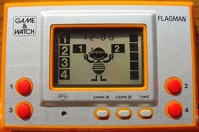 Game & Watch Silver Series: Flagman