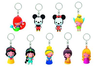 Disney Series 1 Laser Cut Figural Keyrings