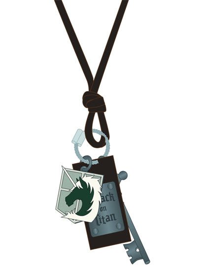 Attack on Titan: Military Icon Necklace