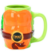 Teenage Mutant Ninja Turtles Molded Shell Mug