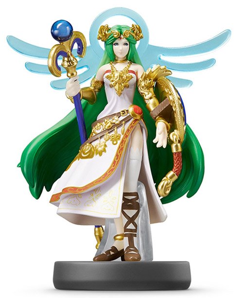 amiibo Palutena Super Smash Bros.