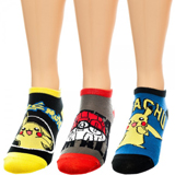 Pokemon Ankle Socks 3 Pairs