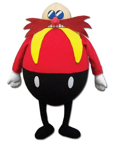 Sonic the Hedgehog Dr. Eggman 14 Inch Plush