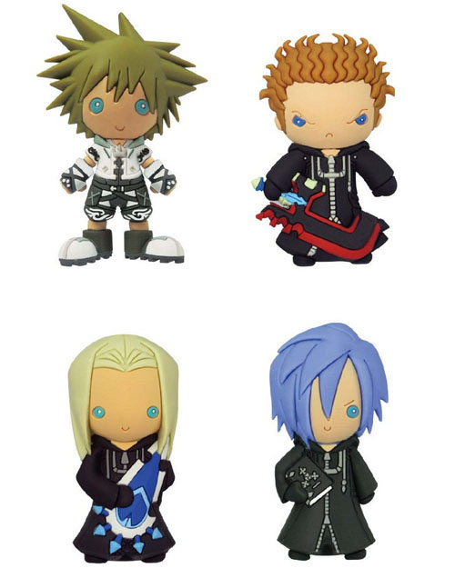 Kingdom Hearts Laser Cut Figure Keyrings Series 2