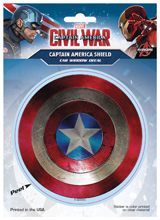 Marvel Captain America Civil War Shield Decal