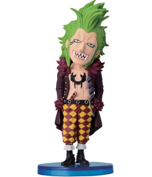 One Piece WCF Dressrosa Bartolomeo 2 3/4 Inch Figure