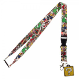 Nintendo Super Mario Bros Question Block Lanyard With Charm