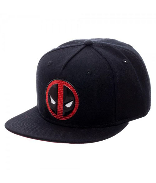 Marvel Deadpool Chrome Weld Snapback