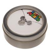 Super Mario Mushroom Necklace & Earring Gift Set