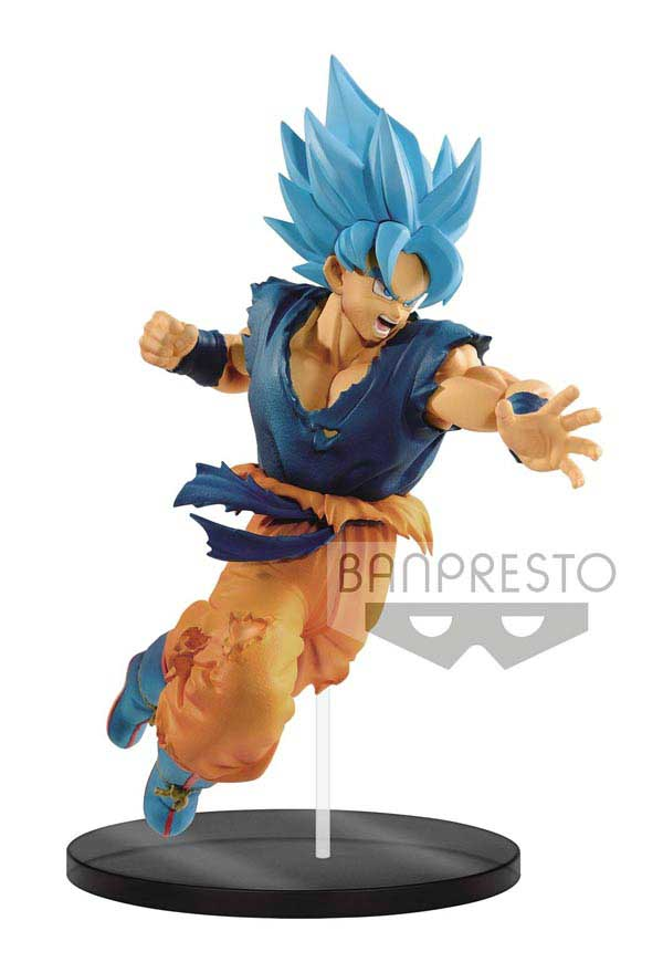 Dragon Ball Super The Movie: Ultimate Soldiers Super Saiyan God Goku Figure