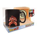 Dragon Ball Z Heat Activated Mug and Coaster Gift Set