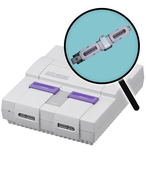 Super Nintendo Repairs: Controller Port Replacement Service