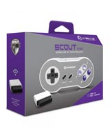 SNES Scout Premium Wireless Bluetooth Controller