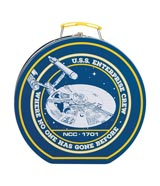 Star Trek USS Enterprise Tin Tote