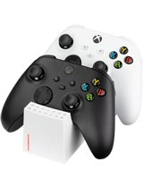 Xbox Series X Twin Charge SX Controller Charging Station White Snakebyte