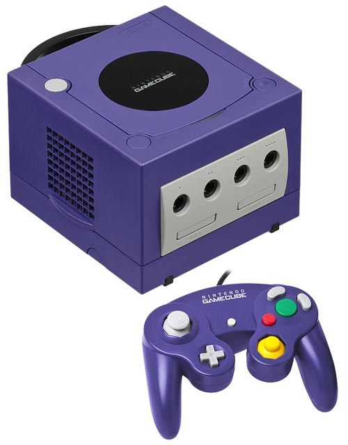 Nintendo GameCube System Indigo