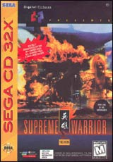 Supreme Warrior 32X CD