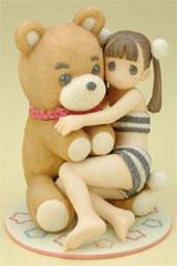 Creators Labo #10 Yug Kuma-San Bear PVC Figure