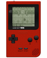 Nintendo Game Boy Pocket System Red