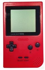 Nintendo Game Boy Pocket System Red