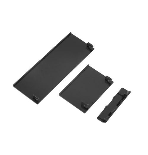 Wii Replacement Door Covers Set Black