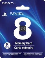PlayStation Vita 8GB Memory Card