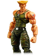 Super Street Fighter IV Play Arts Kai Guile Action Figure