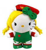 Sanrio X Street Fighter Cammy 10 Inch Plush