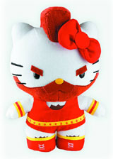Sanrio X Street Fighter Zangief 10 Inch Plush
