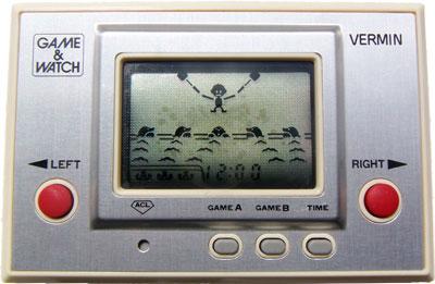 Game & Watch Silver Series: Vermin
