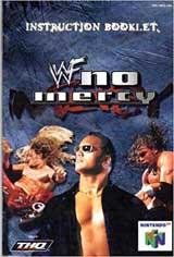 WWF: No Mercy (Instruction Manual)