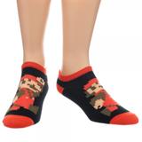 Super Mario Ankle Socks 5 Pairs