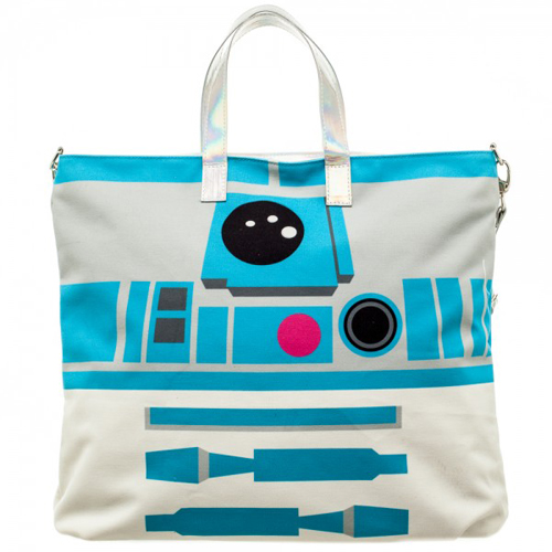 Star Wars R2D2 Oversized Jrs. Tote with C3PO Coin Pouch