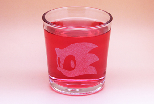 Arts & Crafts: Sonic Head Custom-made 13oz Glass