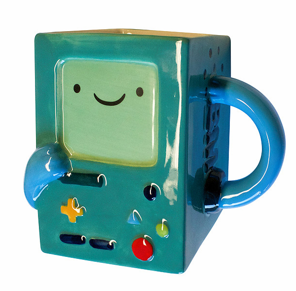 Adventure Time BMO Molded Mug