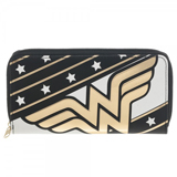 DC Comics Wonder Woman Large Zip Around Wallet