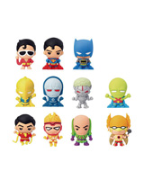 DC Comics Super Powers Laser Cut Figure Keychain
