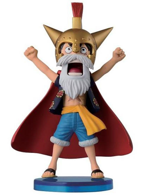 One Piece WCF Dressrosa Luffy 2.8 Inch Figure