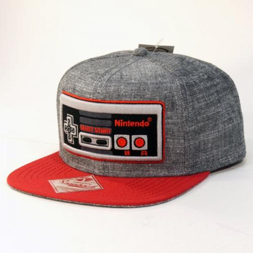 Nintendo Controller Gray Snapback